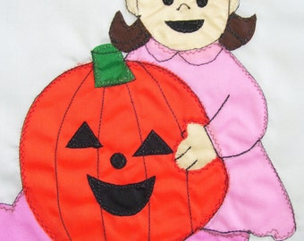 Baby's First Halloween Garden Flag