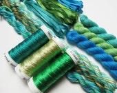 October Silk Fiber Collection #9