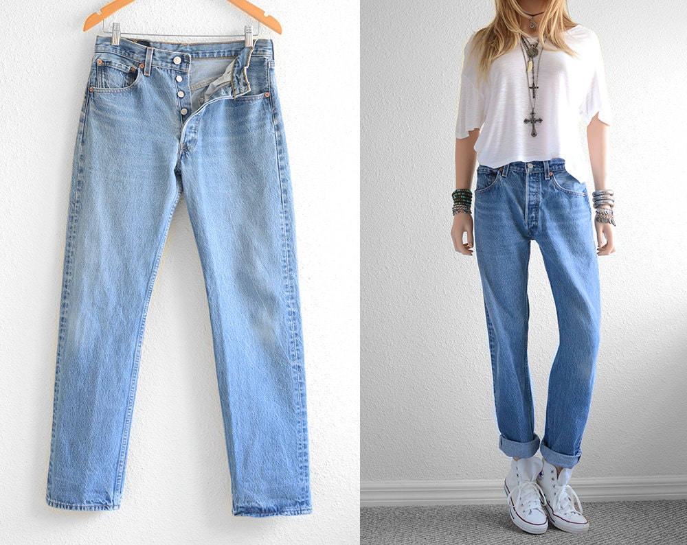 Womens Levi Boyfriend Jeans