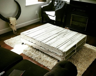 Upcycle Pallet Coffee Table
