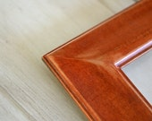 Wooden Picture Frame in The Classy Style and Vintage Color of Your Choice - Standard Frame Sizes