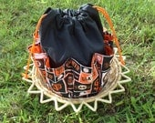 RESERVED for (((( 74inches )))) Cotton Canvas Tote San Francisco Giants Fabric Design Bingo Bag Holds 18 Daubers at once
