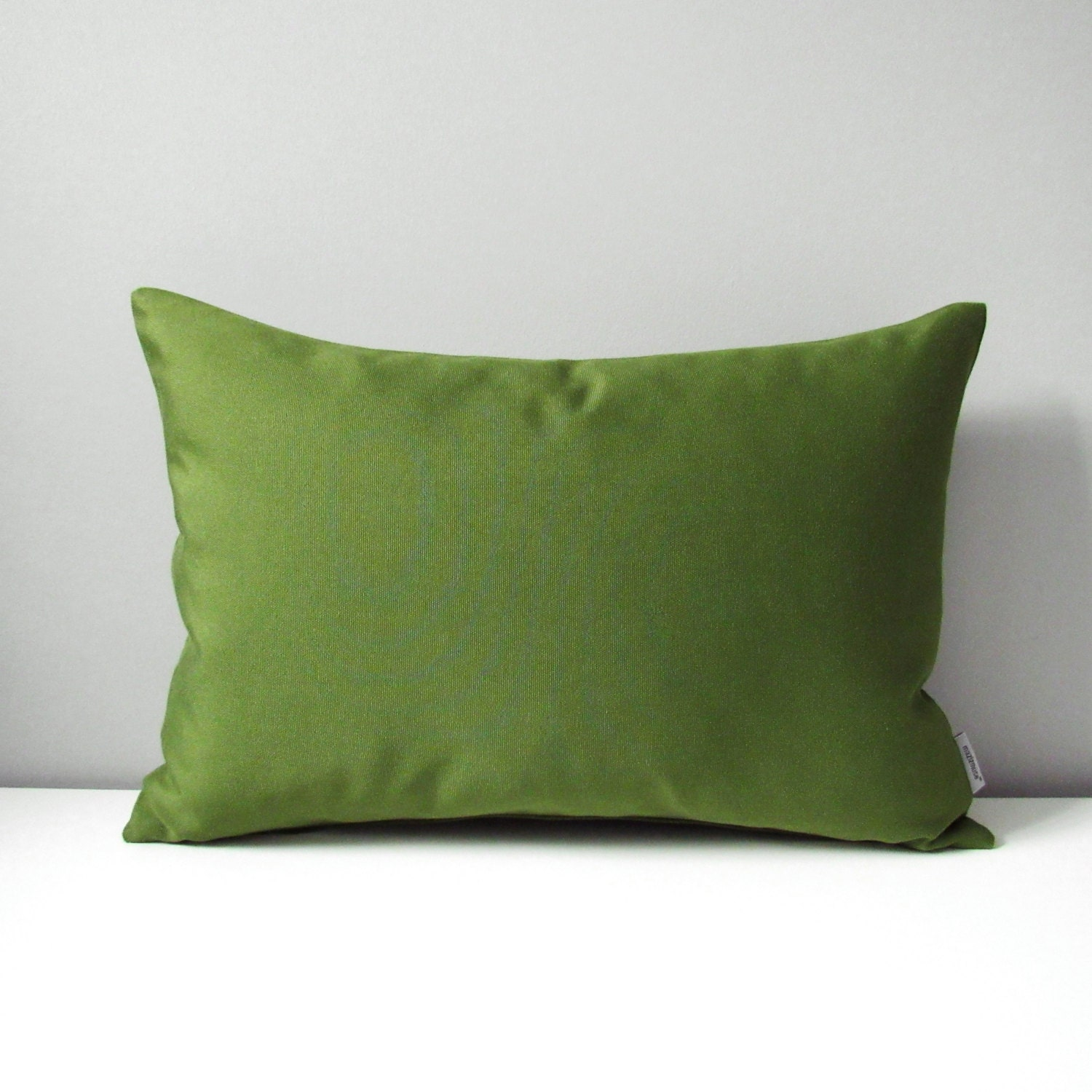 Olive Green Decorative Pillow : Olive Green Sunbrella Pillow Cover Decorative Outdoor Pillow