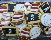 RESERVED - 18 Pirate cookie favors