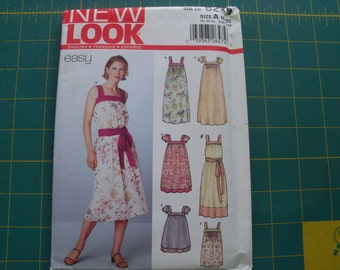 New Look 6239 Misses Dresses Sizes 10-22 NEW Uncut Sewing Pattern