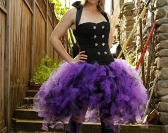 Lolita Tutu in Violet and Black