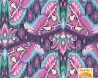 Eden Atlas Fabric by Tula Pink PWTPO70 Amethyst FAT QUARTER