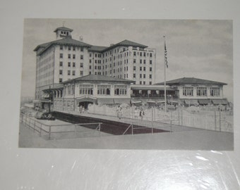 Used Picture Postcard The Flanders Hotel Ocean City New Jersey Motel Post Card
