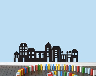 Little City - Nursery and Kids Room Wall Decals