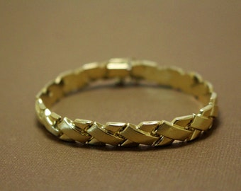 14K Gold Bracelet Links Vintage
