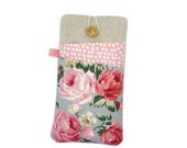 iPhone 7 Case, iPhone 7 Sleeve, iPhone 6S Case, Pink Roses, iPhone 7 Plus Case, iPhone SE Sleeve, Mum Gift, iPod 6, iPhone 6S Plus
