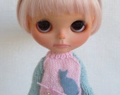Oh my kitty sweater for Blythe
