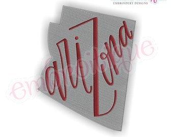 Arizona Lettered State Shape Fill- Arizona Lettered State Shape Fill