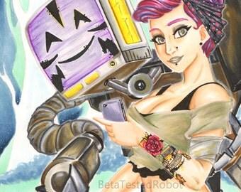 Girl and Robot 8x11