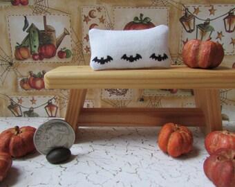 Dollhouse Miniature Bat toss pillow