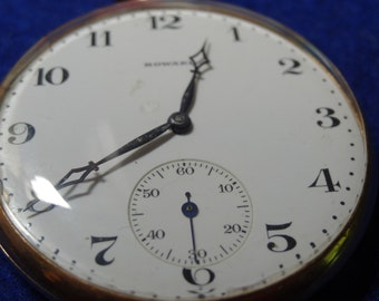 Handsome E. Howard Gentleman's Presentation Pocket Watch