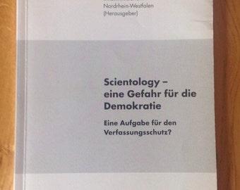 A vintage copy of Scientology - eine Gefahr fur die Demokratie