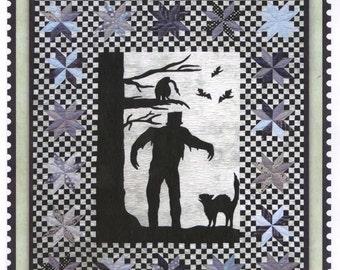 Creature Features #1233 Monster Frankenstein Halloween Silhouette Quilt Pattern