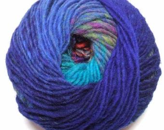 Noro Kureyon Wool Blue Red Purple Teal Yarn Per Skein 369 Lot A