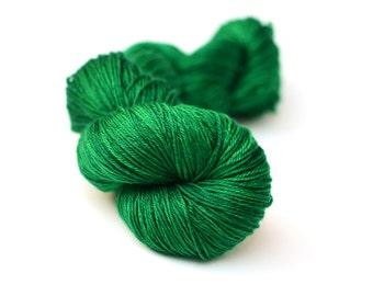 Silk and Merino Hand dyed yarn - 100g