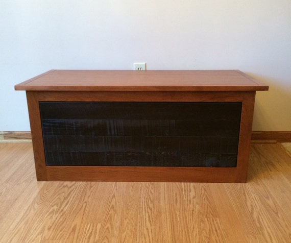 Cherry Bench Seat With Drawer