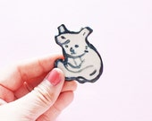 Koala Fun Porcelain Ceramic Pin - Koala Brooch