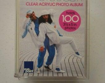 Vintage Vue Point PhotoBook Clear Acrylic