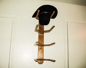 Cowboy Western Hat Rack Wall Mount for 4 Hats Organize