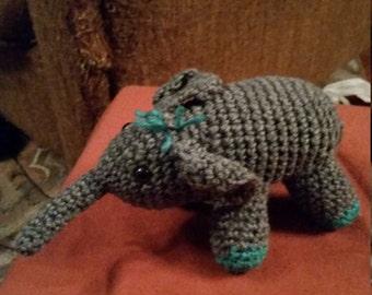 Crocheted elephant