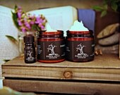 Gift Set- Full Size Perfume Oil, Sugar Scrub and Embalming Cream