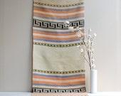 "Vintage Handwoven Southwestern Rug 52"" x 20"""