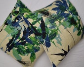 Vintage Linen Fabric Boho Pillow Cover