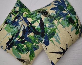 Vintage Linen Fabric Boho Pillow Cover