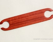 """Flat stick shuttle Tablet weaving Card weaving. Padouk """"Mini"""". Ancient medieval viking art inkle loom weaving loom craft work SCA"""