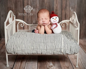 Little Snowman Newborn Baby Photography Prop
