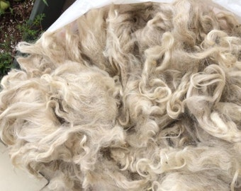 Mohair Locks, White, Lolani