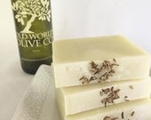 Lavender Luxury Olive Oil Soap with Essential Oil and Shea Butter