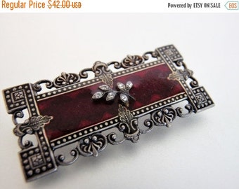 ON SALE Pretty Vintage Catherine Popesco France Brooch Pin