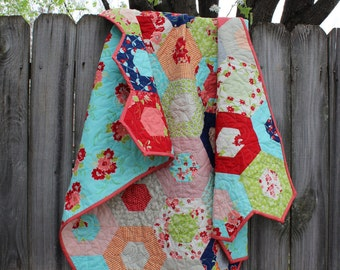 Quilts for Sale / Quilt / Custom Quilt / Baby Quilt / Handmade Quilt /  Quilts for Girls  / Crib Bedding /   MADE TO ORDER
