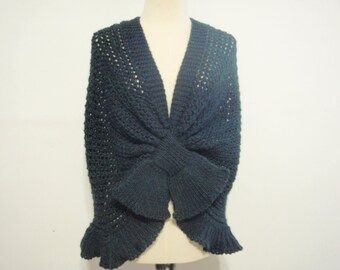 Hand Knit Wrap style