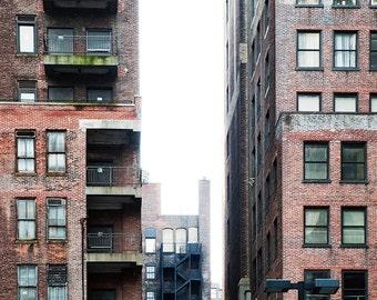 NYC - Fire Escape - Aluminum Print