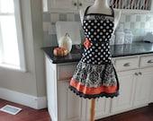 Pumplin Spice ~ Ellie Style - Cute for Thanksgiving  ~Women's Apron 4RetroSisters
