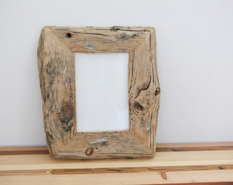 Reclaimed Farm Wood Artwork or Photo Frame 5x7 frames
