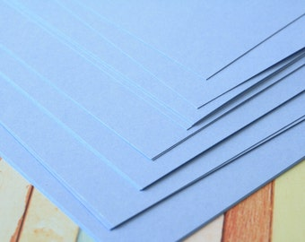 MARINE BLUE Craft Style Colour Card Stock 260gsm 95lb cover