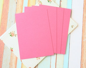 Punch Raspberry craft style blank postcards