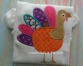 Girls Thanksgiving Turkey Shirt Girls Pumpkin Shirt