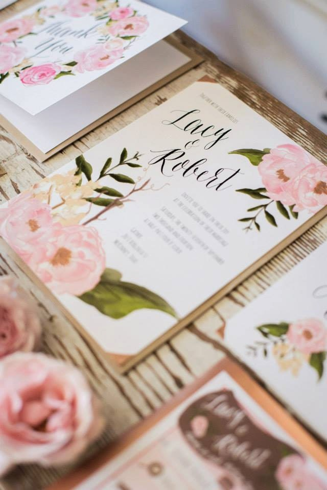 Floral Boho Wedding Invitation The Lacy 20