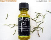 Annual  Sale Spruce Pitch/Sap Infused Herbal Oil -   Picea Abies -  Skin Care - Organic - Wildcrafted // Wildharvested - 1/2  oz