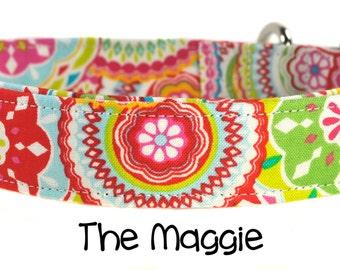 The Maggie - Multicolored Dog Collar
