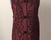 Vintage 1970s Katalin Long Sweater Vest - s/m